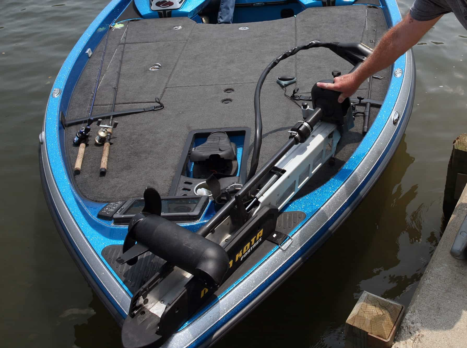 What is the best trolling motor for a bass boat?