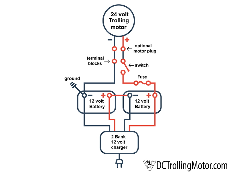 24volt series diagram