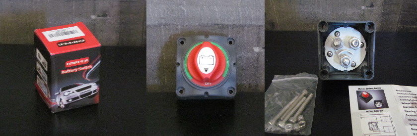 Ampper 1-2-Both-Off Battery Disconnect Switch